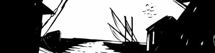 Animação sobre a obra gráfica de Stuart de Carvalhais