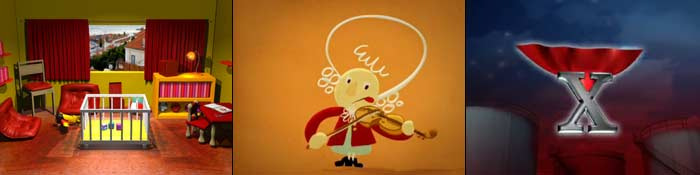Uma série de animação para crianças dos dois aos cinco anos.