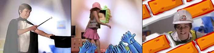 publicidade, comerical para a Kidzania