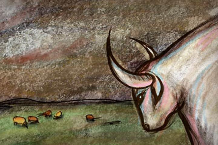 filme de animação — Vacas